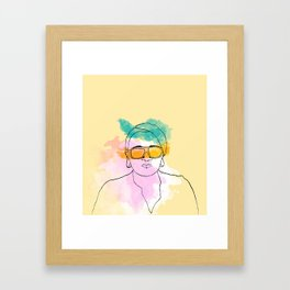 Bea Framed Art Print