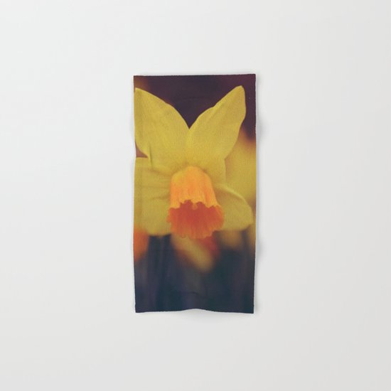 Yellow Narcissus #2 Hand & Bath Towel