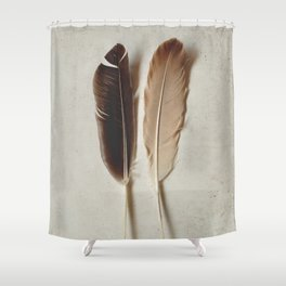 Feathered Pair Shower Curtain