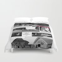 viking Duvet Covers featuring Viking by Céline Solmini