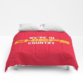 We're in Chiefs Country Comforters