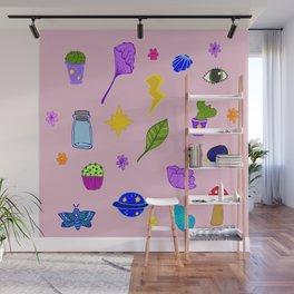 Pink Flash Sheet Wall Mural