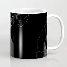 Wellington map New Zeland Coffee Mug
