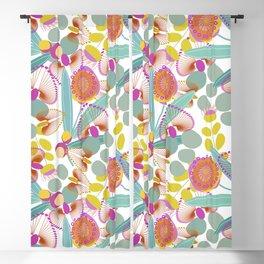 Australian Flora  #society6 #floral Blackout Curtain
