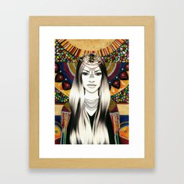 Mosaicos // Mosaics Framed Art Print