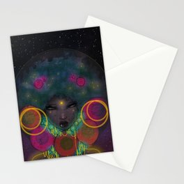 Galaxy Queen Stationery Cards