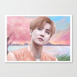 BTS J-Hope Canvas Print
