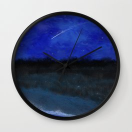 First Frost - In the Midst of Night Wall Clock