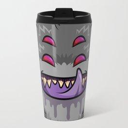 Diabolical Fuzzball (charcoal) Travel Mug