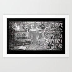 #ERROR57.02 Art Print