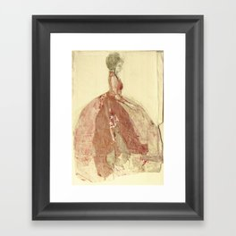 Hommage à Francisco de Goya VIII Framed Art Print