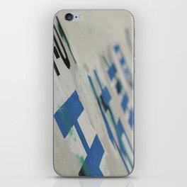 Chinatown Wall iPhone Skin