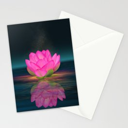 Floating Into Nothingness Stationery Cards