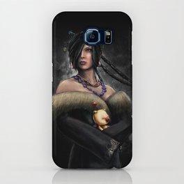 Final Fantasy X Lulu Painting Portrait iPhone Case
