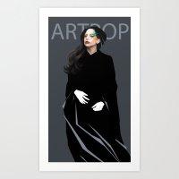 artpop Art Prints featuring Artpop by Annike