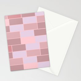 Bricks wall Stationery Cards