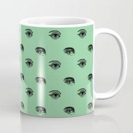 WATCHING YOU, SEAFOAM Coffee Mug
