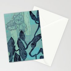 Indigo Vines Stationery Cards
