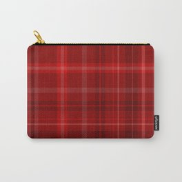 Bloody Hell Tartan Carry-All Pouch