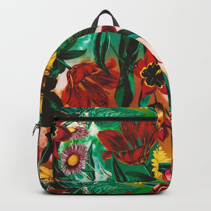 Multicolor Exotic Pattern Backpack