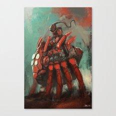 Spider rider Canvas Print