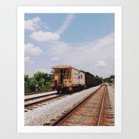 Pulaski Railway Art Print