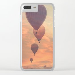 Taste of Freedom Clear iPhone Case