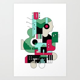 Sounds Art Print