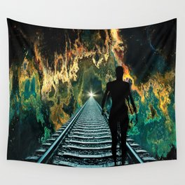 A Journey To A Star Wall Tapestry