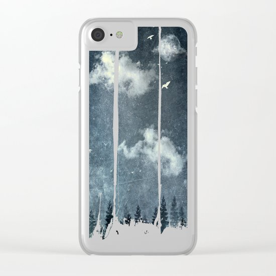 The cloud stealers Clear iPhone Case