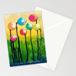 """""""We're All In This Together"""" Original Design by PhillipaheART Stationery Cards"""