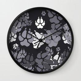 Canine Camo URBAN Wall Clock