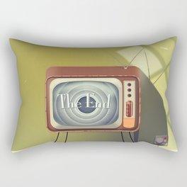 Tv Room Rectangular Pillow