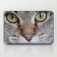 arya iPad Cases featuring Cat by Kellie Eickstead