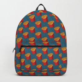 FAST FOOD / Fries - pattern Backpack