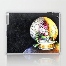 Green Drummer Crazy Mask Laptop & iPad Skin