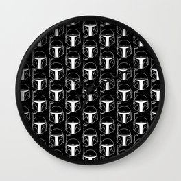 White Bucket Wall Clock