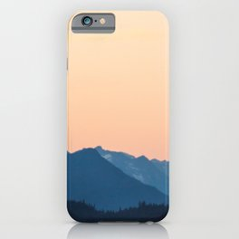 Warmest Blues in the North iPhone Case