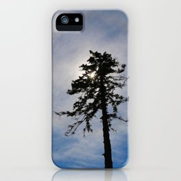 Today, I am Alone. iPhone Case