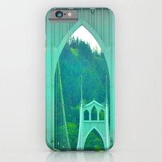 St. Johns Bridge Portland Oregon iPhone 6 Slim Case