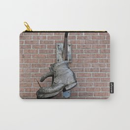 Wooden Boot Carry-All Pouch