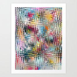 Parade Chaos Art Print