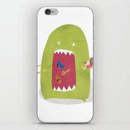 Shoe Monster iPhone Skin