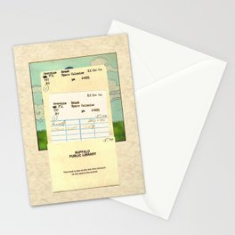 Space Colonies Are Overdue Stationery Cards