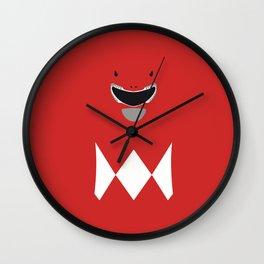 Red Ranger, Power Ranger, Hero Wall Clock
