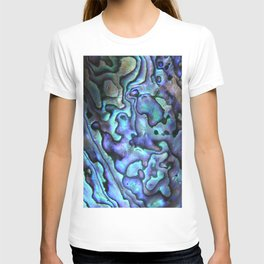 Deep Purple Abalone Shell T-shirt