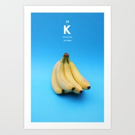 Potassium Art Print