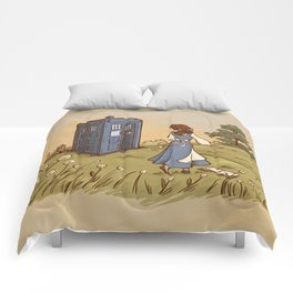 Adventure in the Great Wide Somewhere Comforters