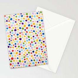 Dot Painting Stationery Cards