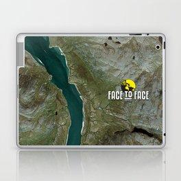 Face To Face - Ape & Man Laptop & iPad Skin